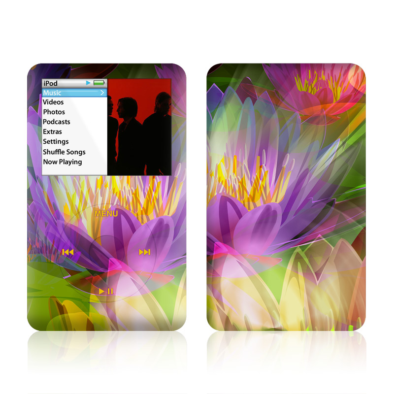 Lily iPod classic Skin
