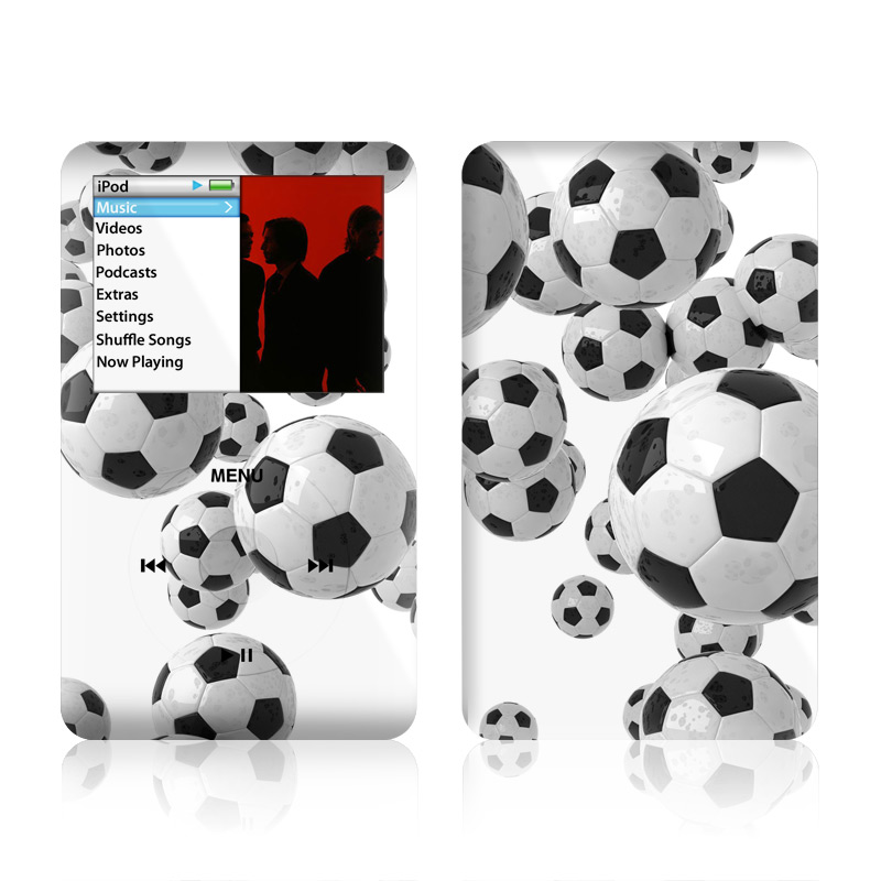 Lots of Soccer Balls iPod classic Skin