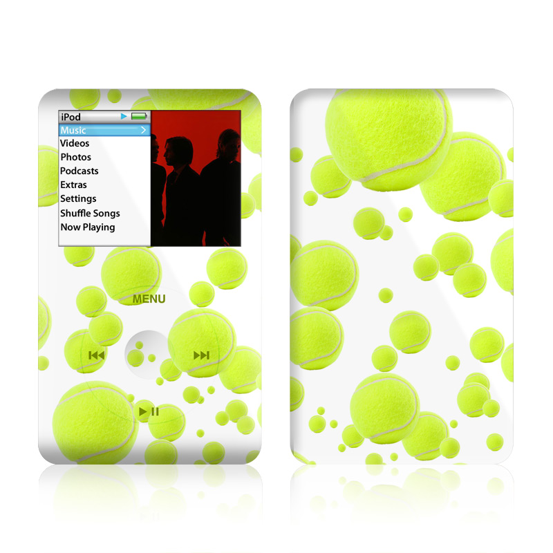 Lots of Tennis Balls iPod classic Skin