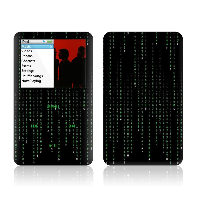 Matrix Style Code iPod classic Skin