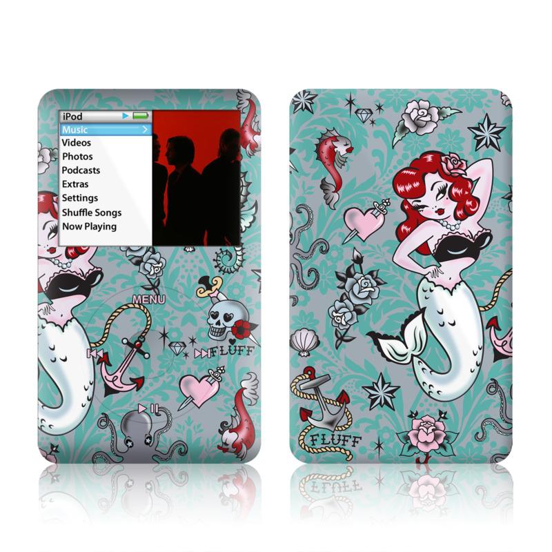 Molly Mermaid iPod classic Skin