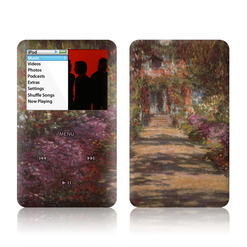 Garden at Giverny iPod classic Skin