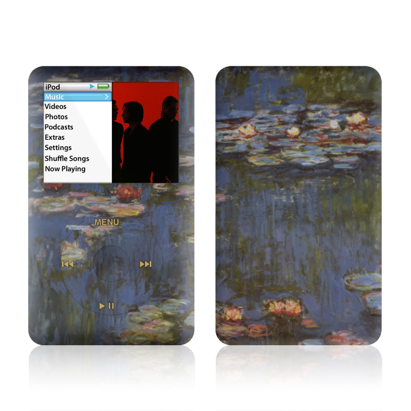 Monet - Waterlilies iPod classic Skin