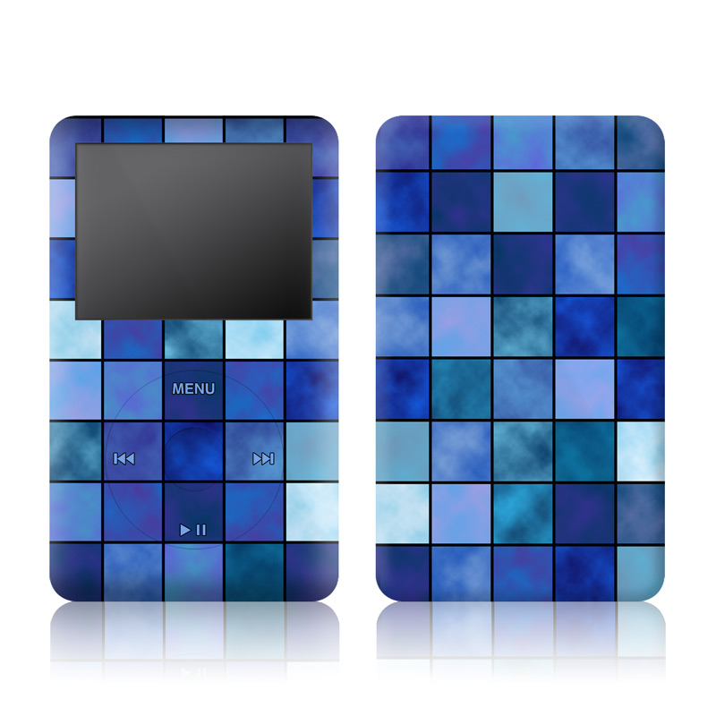 Blue Mosaic iPod classic Skin