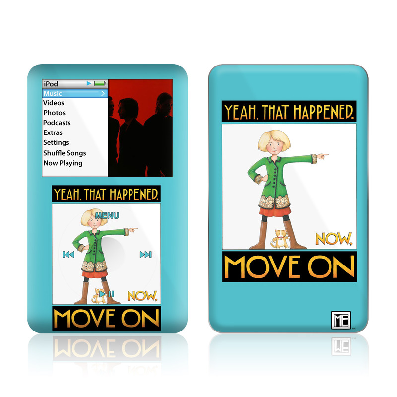 Move On iPod classic Skin