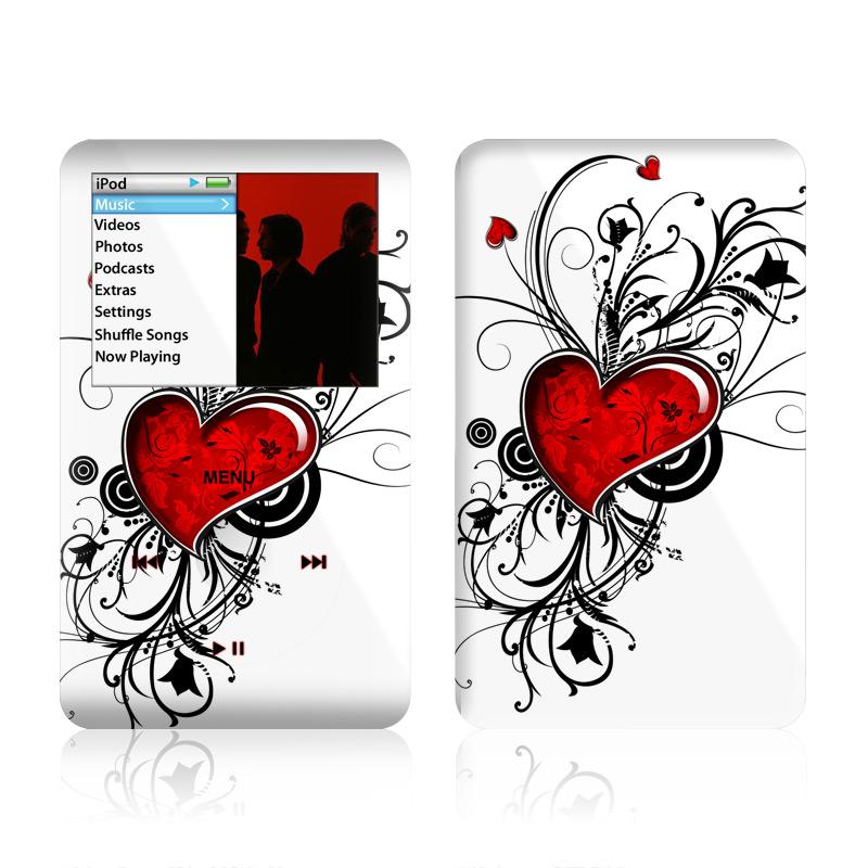 My Heart iPod classic Skin