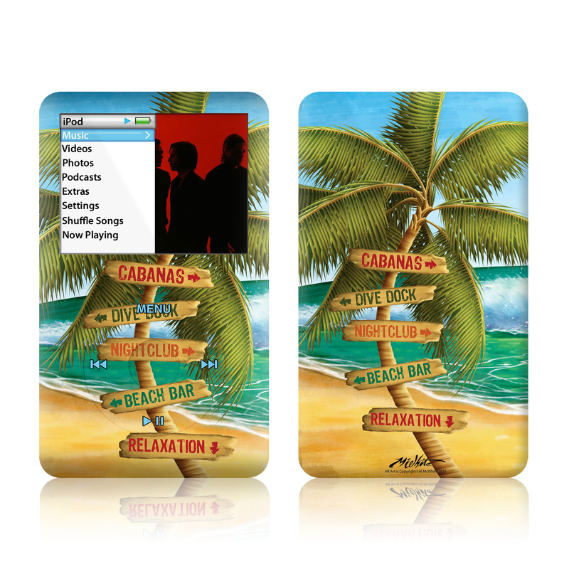 Palm Signs iPod classic Skin