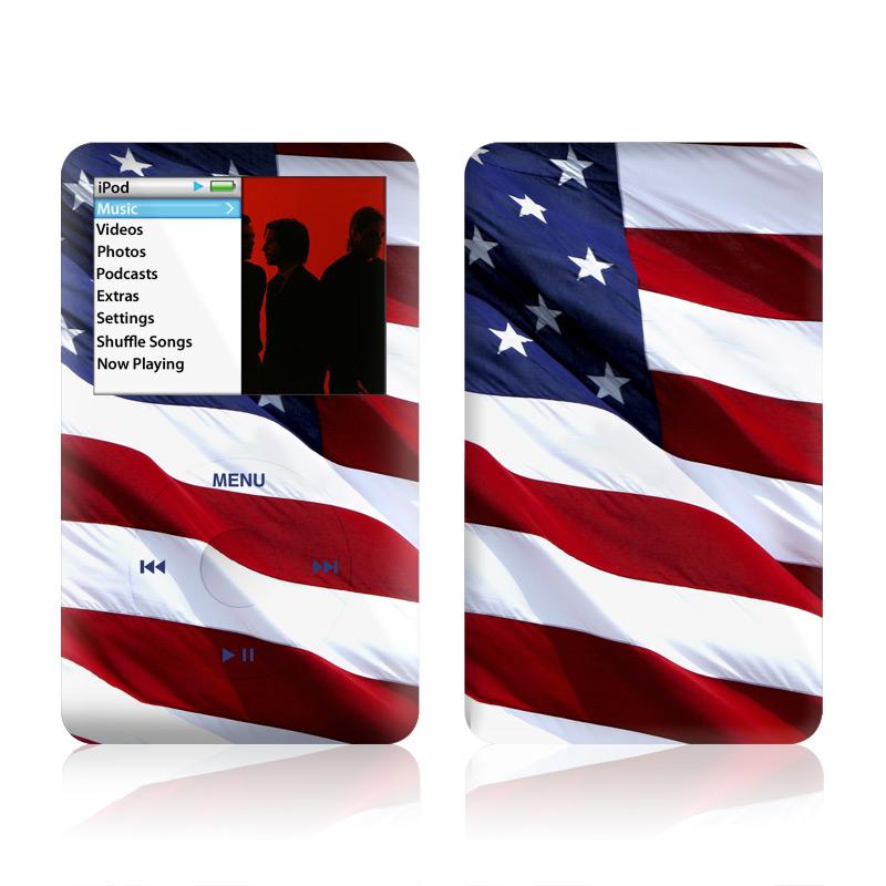 Patriotic iPod classic Skin