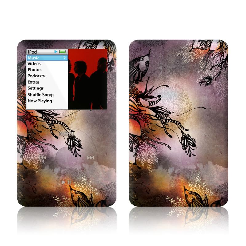 Purple Rain iPod classic Skin