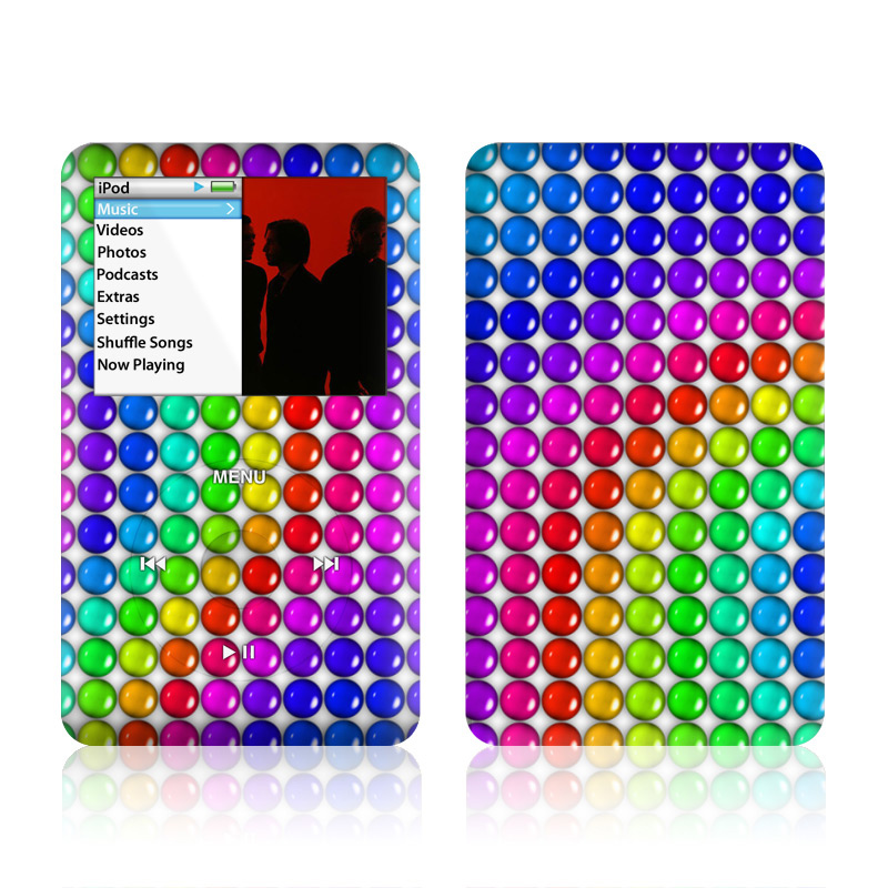 Rainbow Candy iPod classic Skin