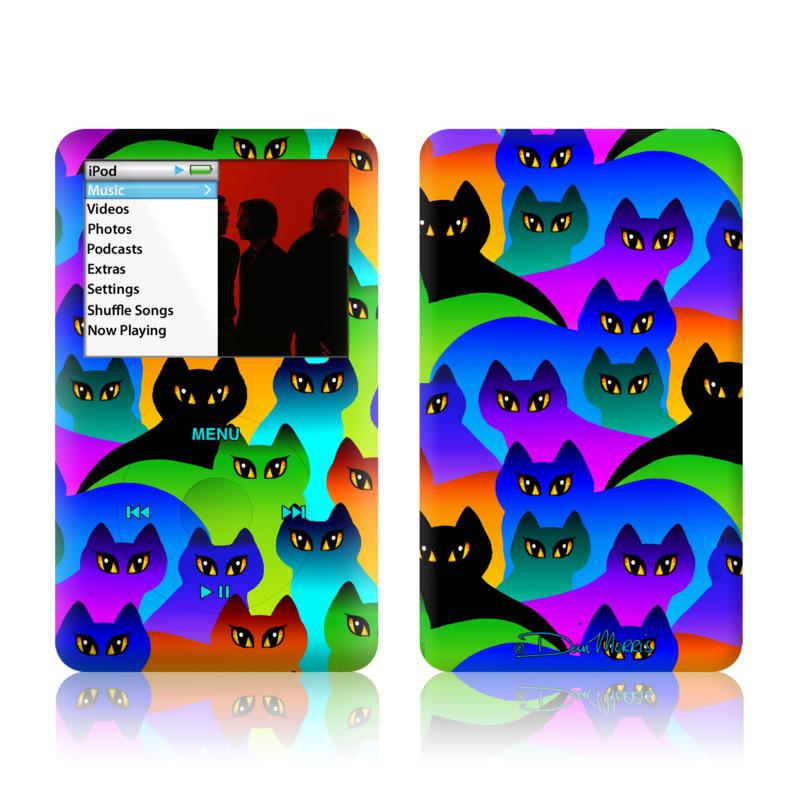 Rainbow Cats iPod classic Skin