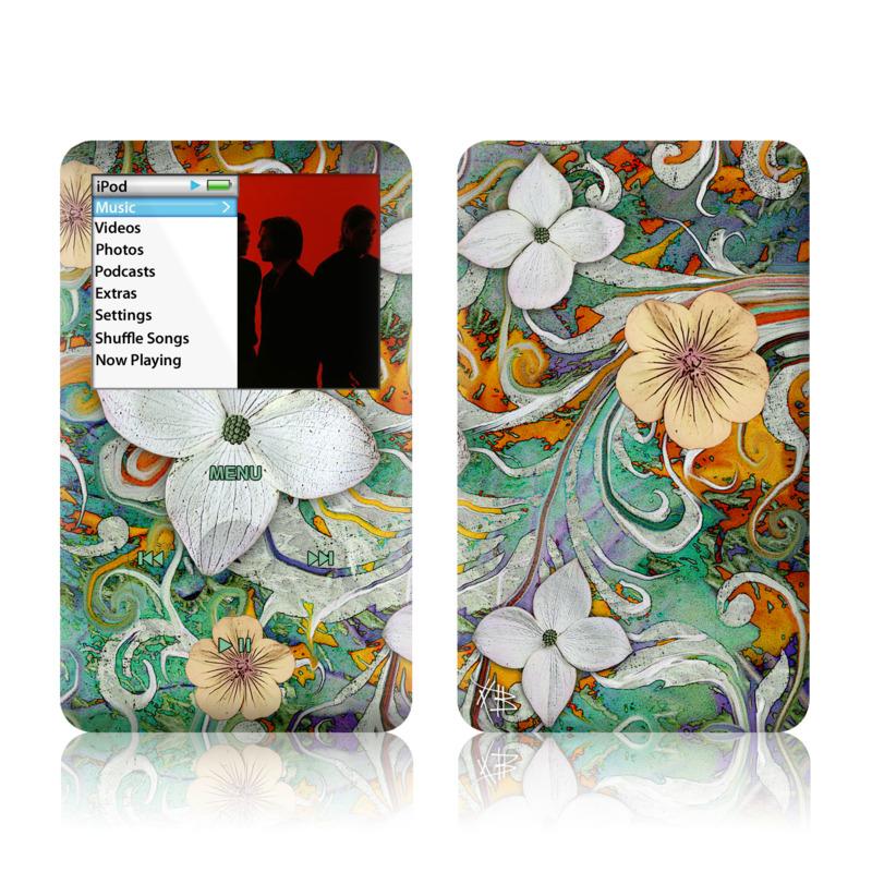 Sangria Flora iPod classic Skin