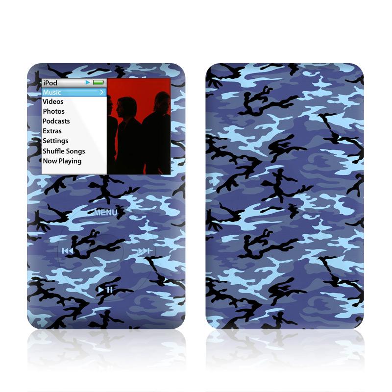 Sky Camo iPod classic Skin