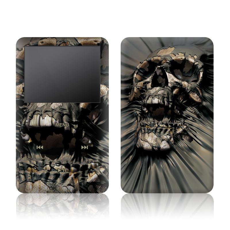 Skull Wrap iPod classic Skin