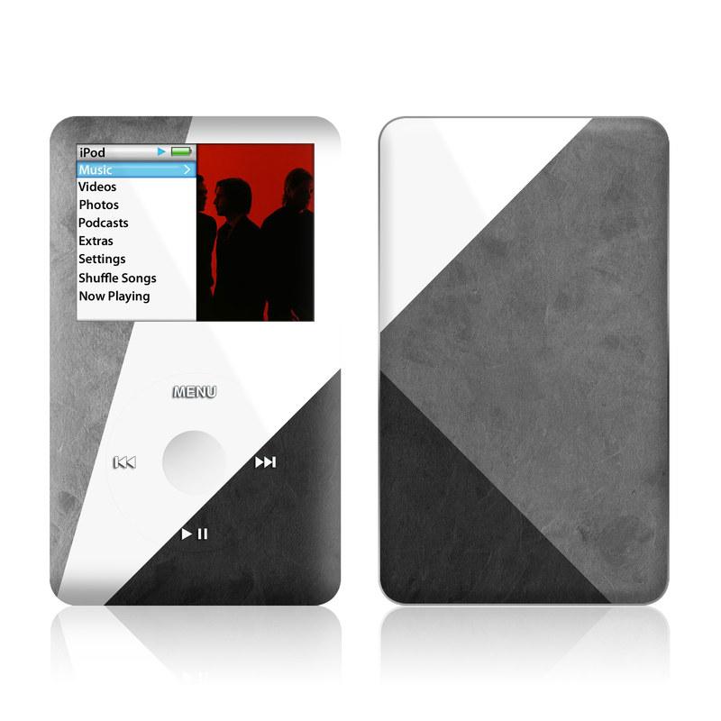 iPod classic Skin design of Black, White, Black-and-white, Line, Grey, Architecture, Monochrome, Triangle, Monochrome photography, Pattern with white, black, gray colors