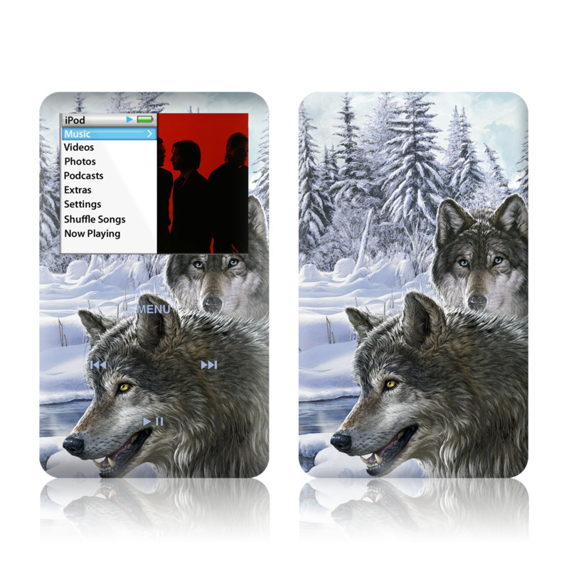 Snow Wolves iPod classic Skin