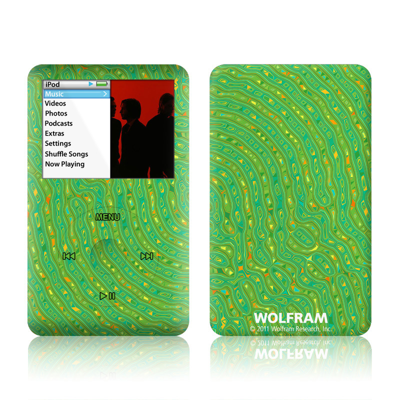 Speckle Contours iPod classic Skin