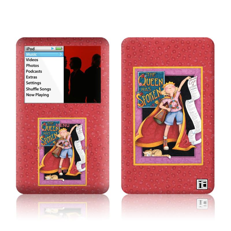 Queen Has Spoken iPod classic Skin