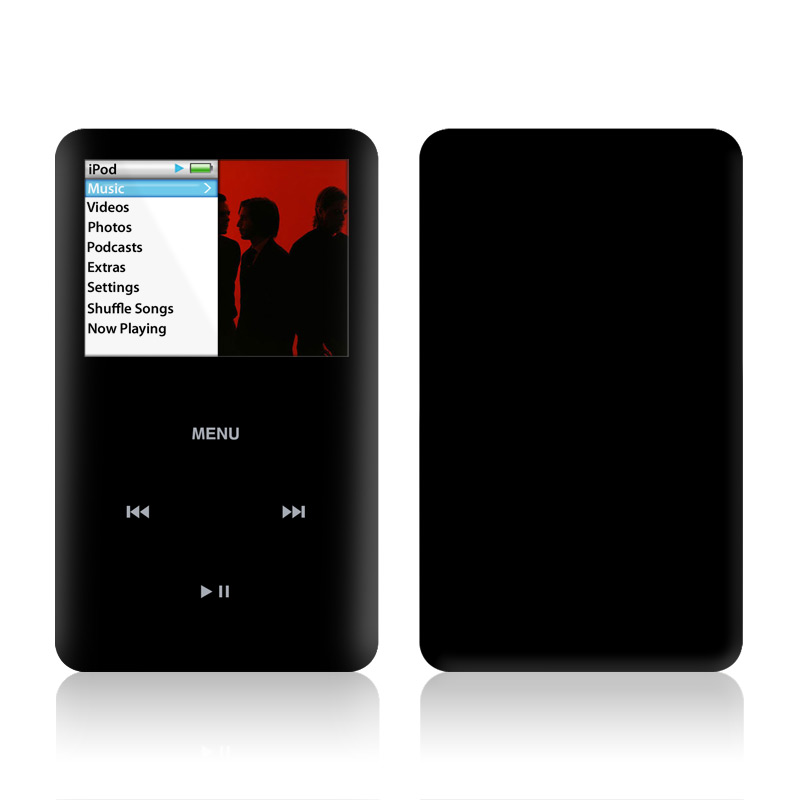 Solid State Black iPod classic Skin
