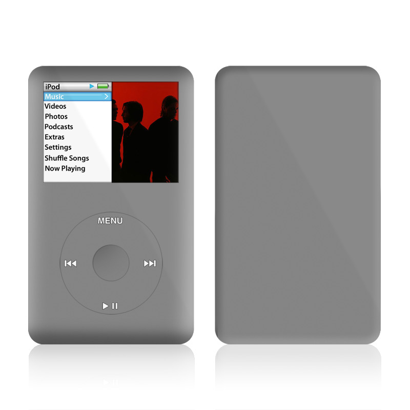 Solid State Grey iPod classic Skin