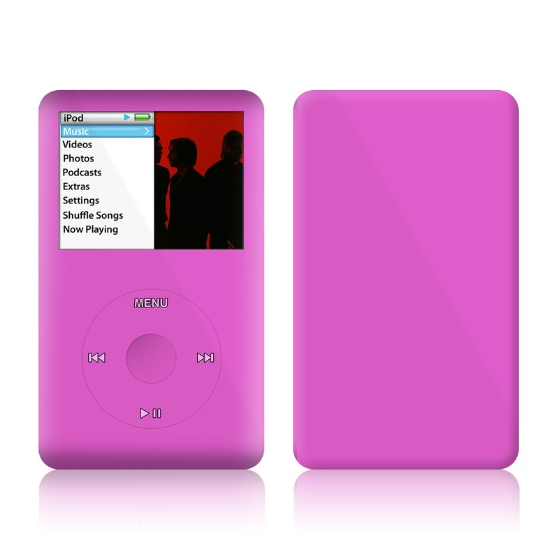 Solid State Vibrant Pink iPod classic Skin