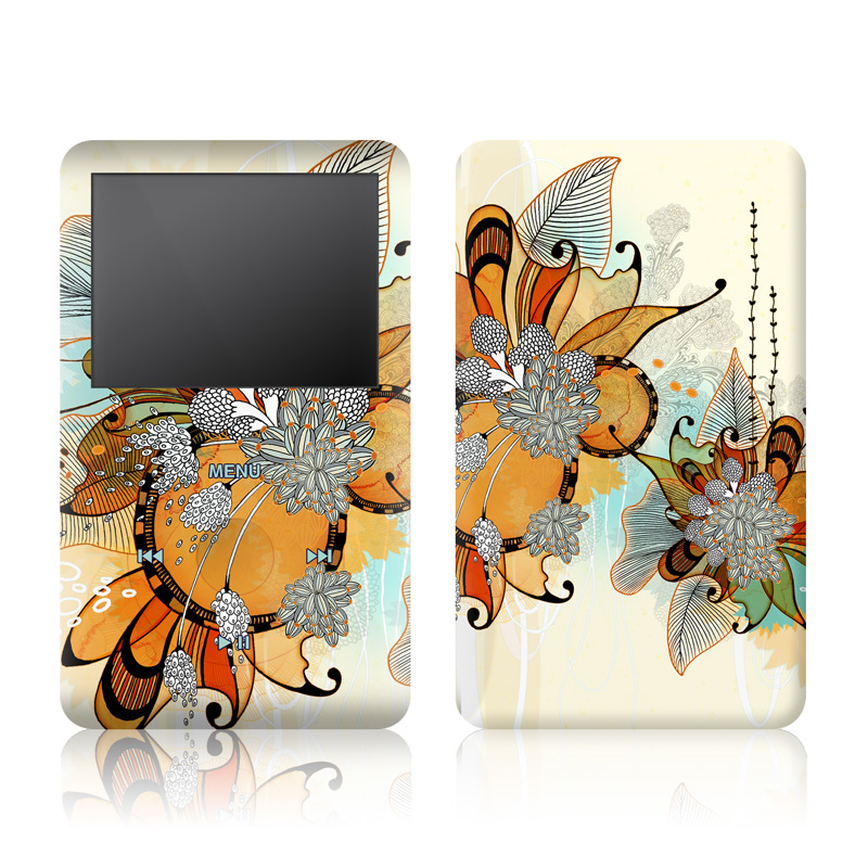 Sunset Flowers iPod classic Skin