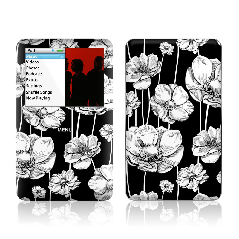 Striped Blooms iPod classic Skin