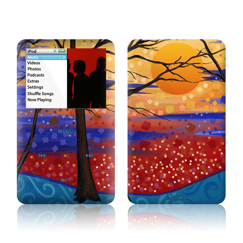 Sunset Moon iPod classic Skin