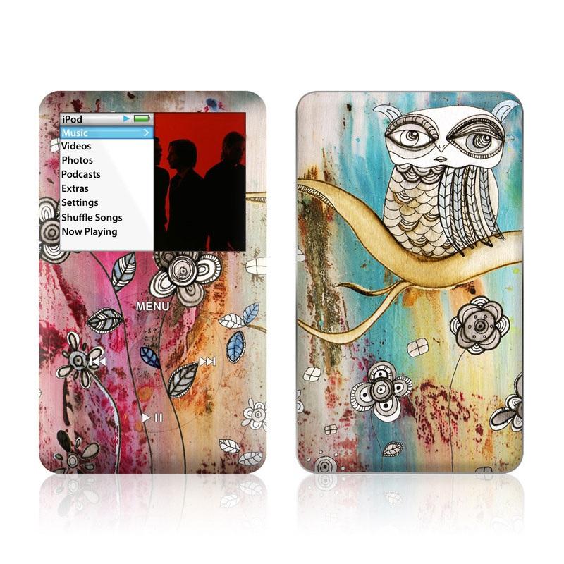 Surreal Owl iPod classic Skin