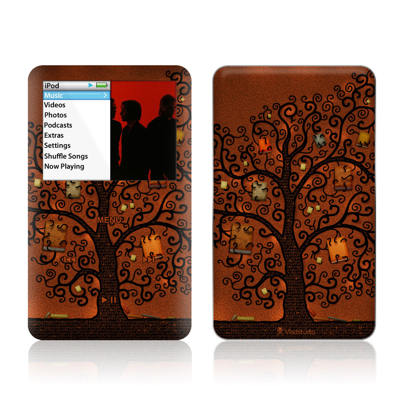Tree Of Books iPod classic Skin