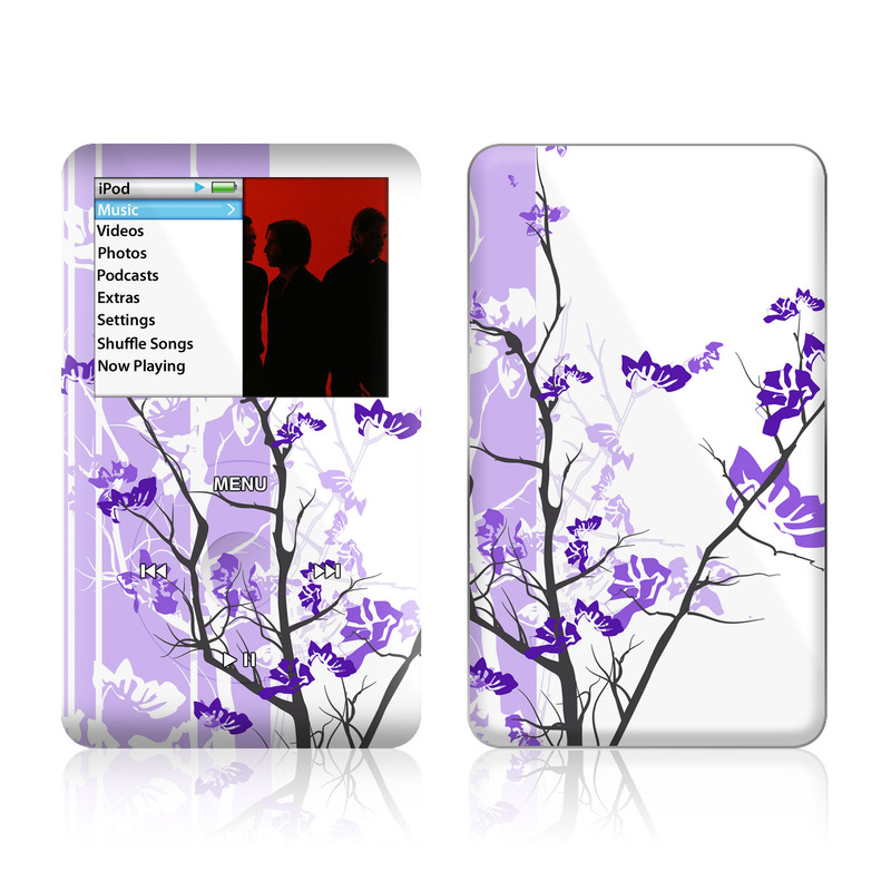Violet Tranquility iPod classic Skin