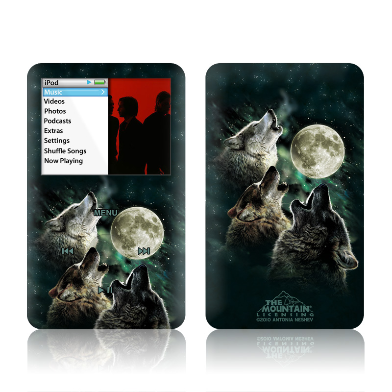 Three Wolf Moon iPod classic Skin