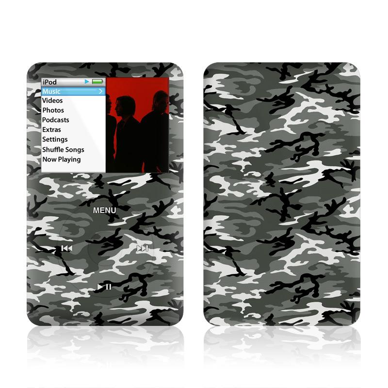 Urban Camo iPod classic Skin