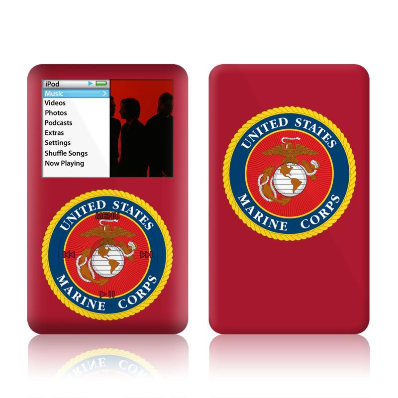 Usmc Red Ipod Classic Skin Istyles