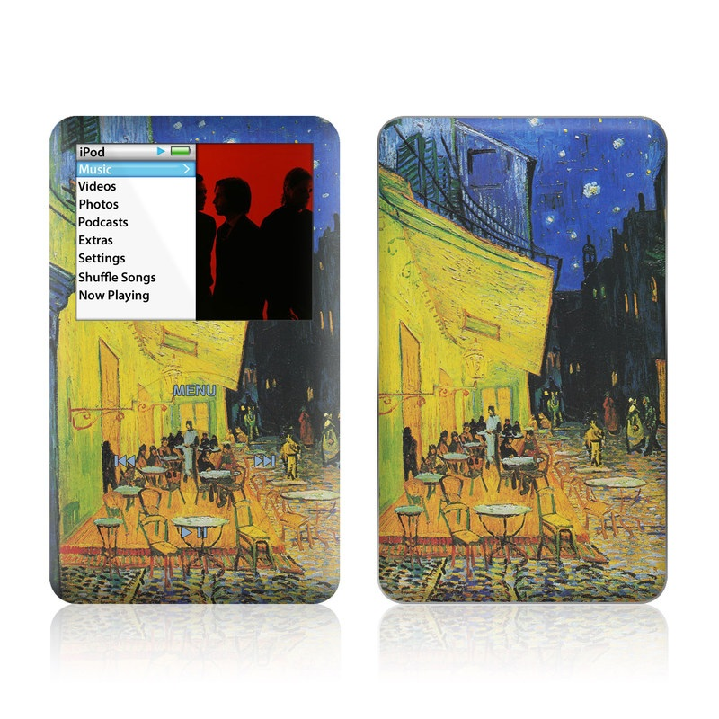 Cafe Terrace At Night iPod classic Skin