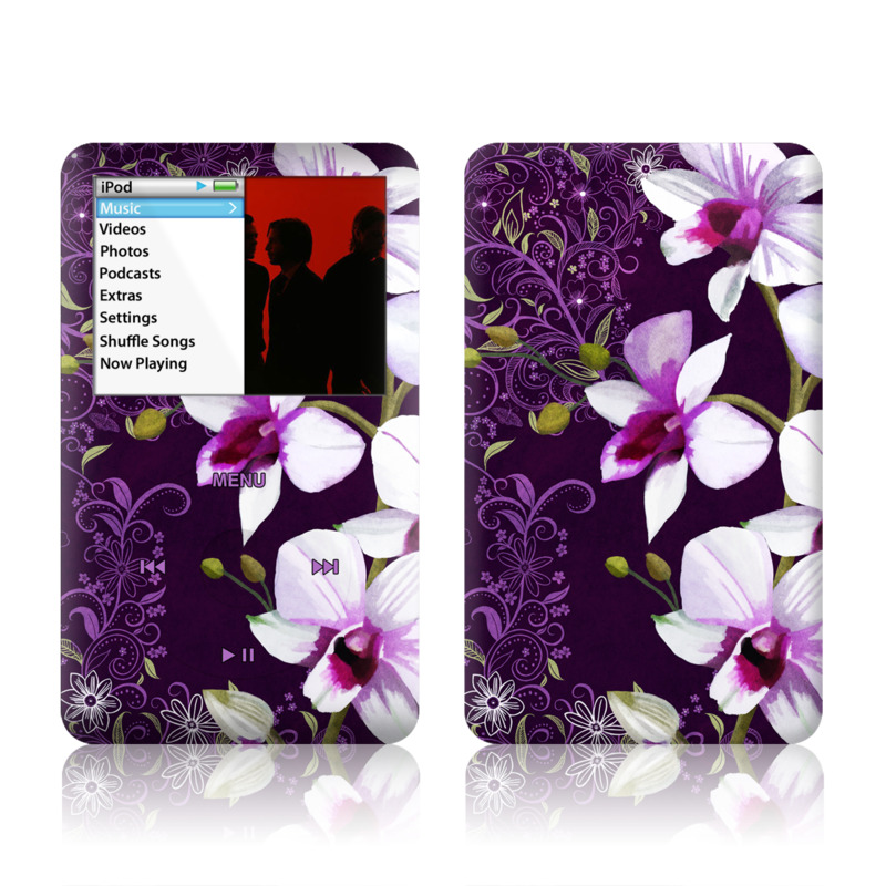 Violet Worlds iPod classic Skin