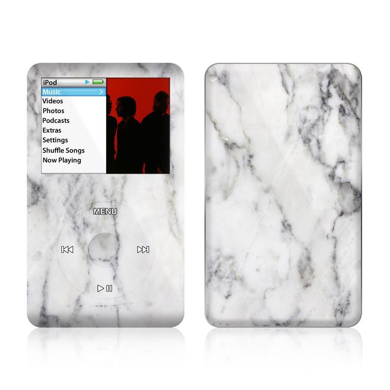 White Marble iPod classic Skin