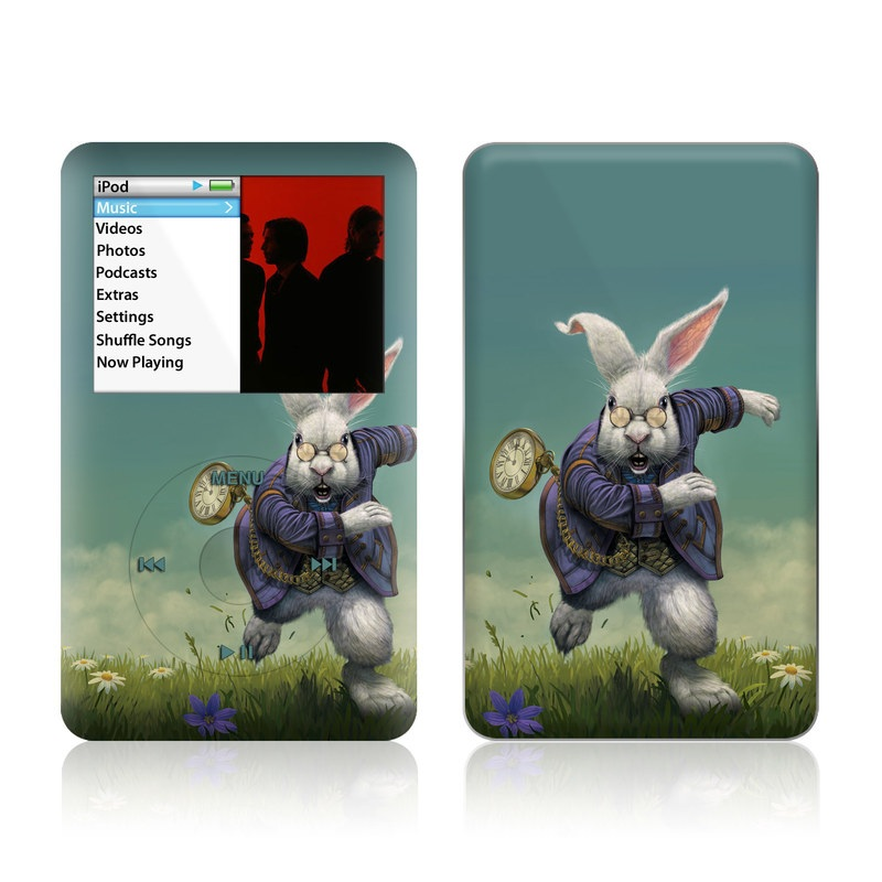 White Rabbit iPod classic Skin