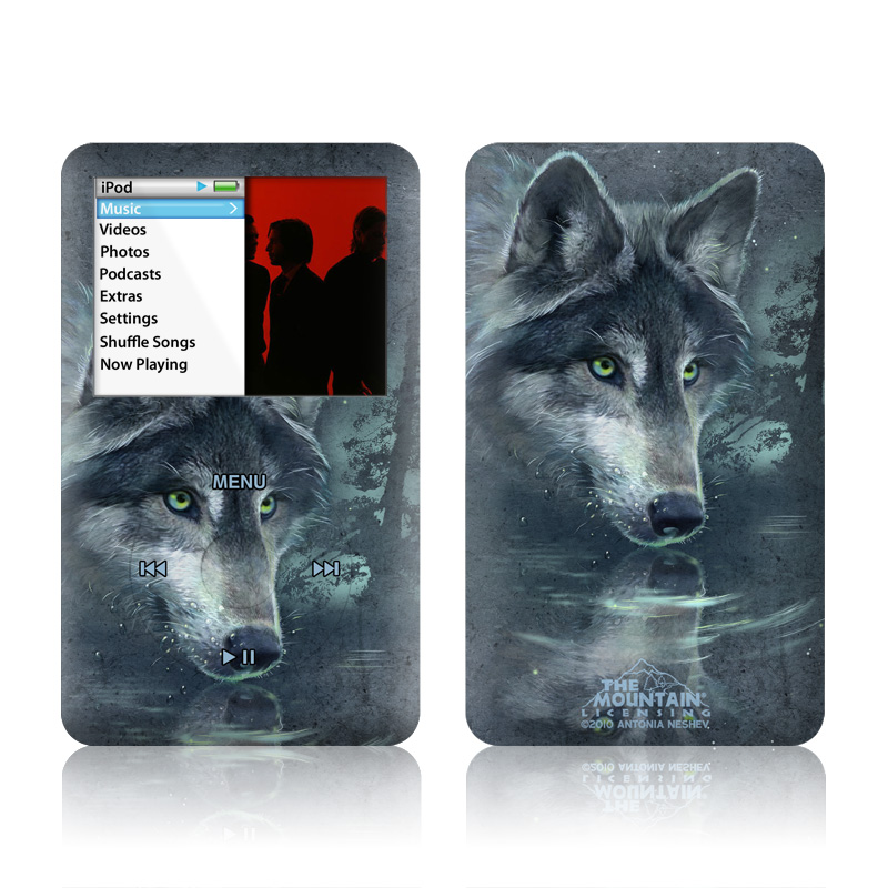 Wolf Reflection iPod classic Skin