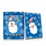 Santa Snowflake Apple iPad 2 Skin