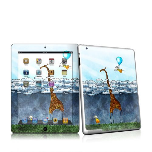 Above The Clouds iPad 2 Skin