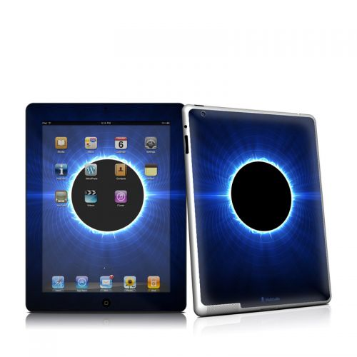 Blue Star Eclipse iPad 2 Skin