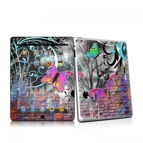 Butterfly Wall iPad 2 Skin