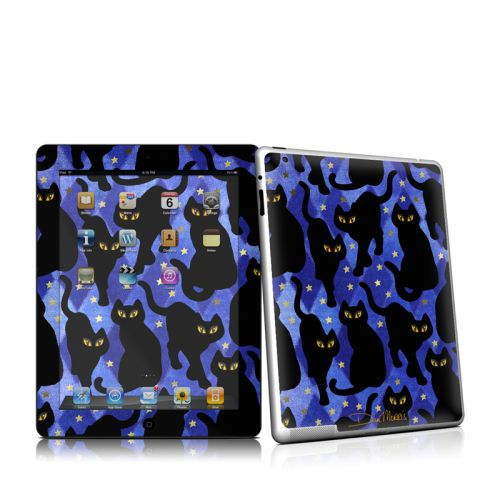 Cat Silhouettes iPad 2 Skin