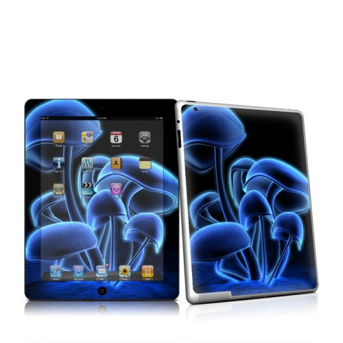Fluorescence Blue iPad 2 Skin