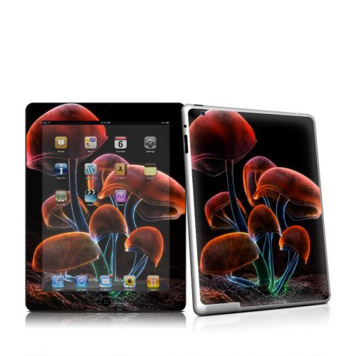 Fluorescence Rainbow iPad 2 Skin