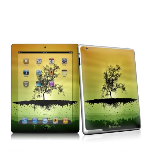 Flying Tree Amber iPad 2 Skin