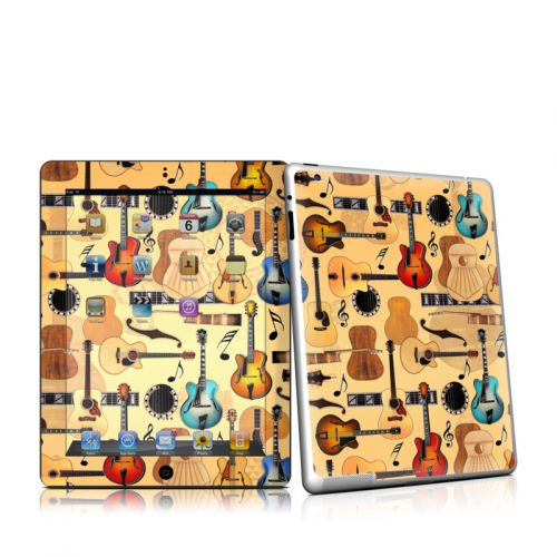 Guitar Collage iPad 2 Skin