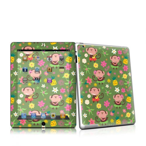 Hula Monkeys iPad 2 Skin