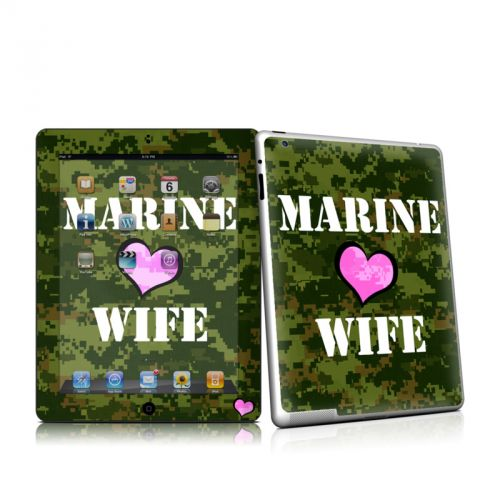 Marine Wife iPad 2 Skin